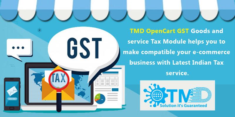 OpenCart GST module