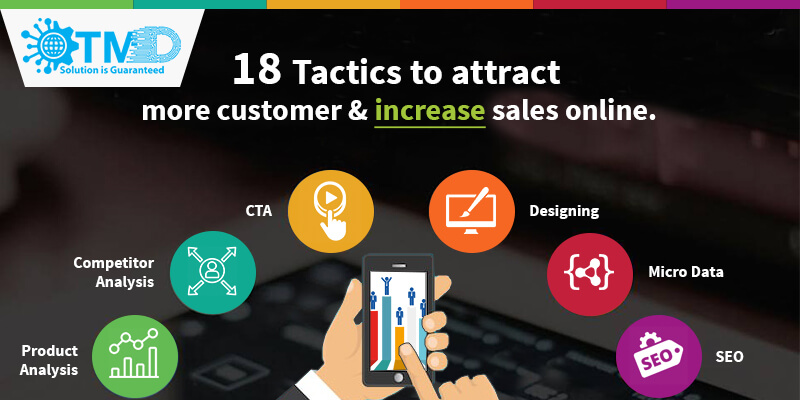 18 Tactics to attract more customer and increase sales online