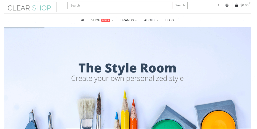 Clearshop - Responsive theme