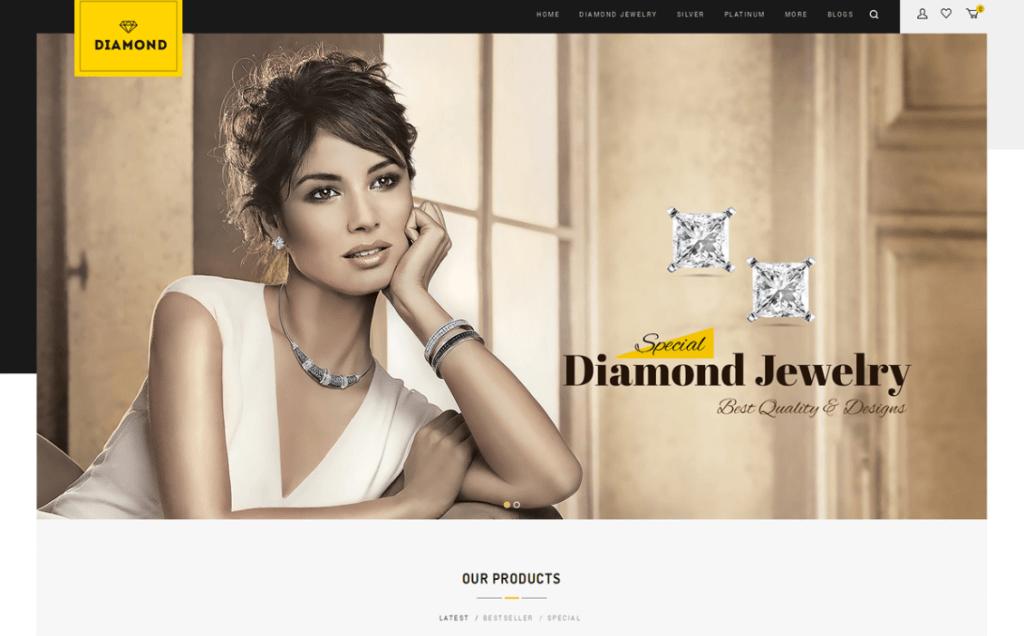 Diamond - Responsive OpenCart Themes