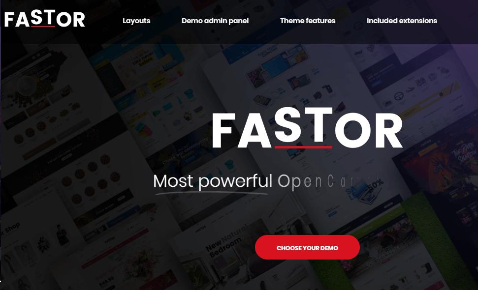 Fastor - Multipurpose Responsive Theme