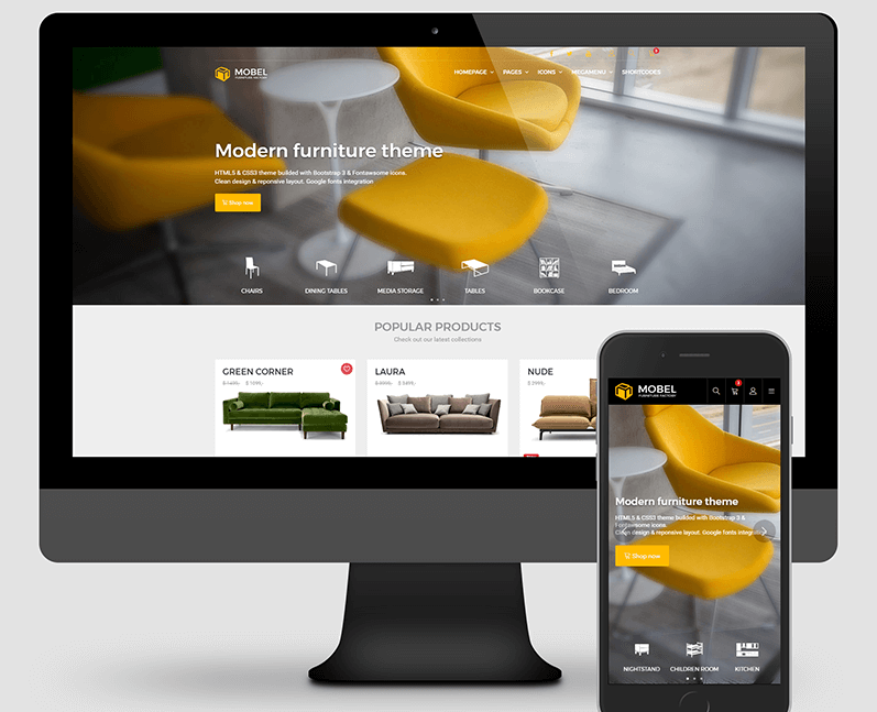 Mobel - Furniture Theme